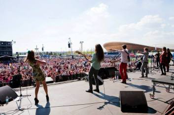Robbie Boyd Band at the Olympic Park, London