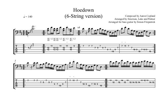 Hoedown header